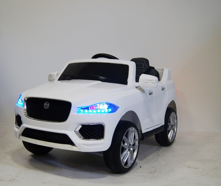 Электромобиль RiverToys Jaguar Р111ВР WHITE