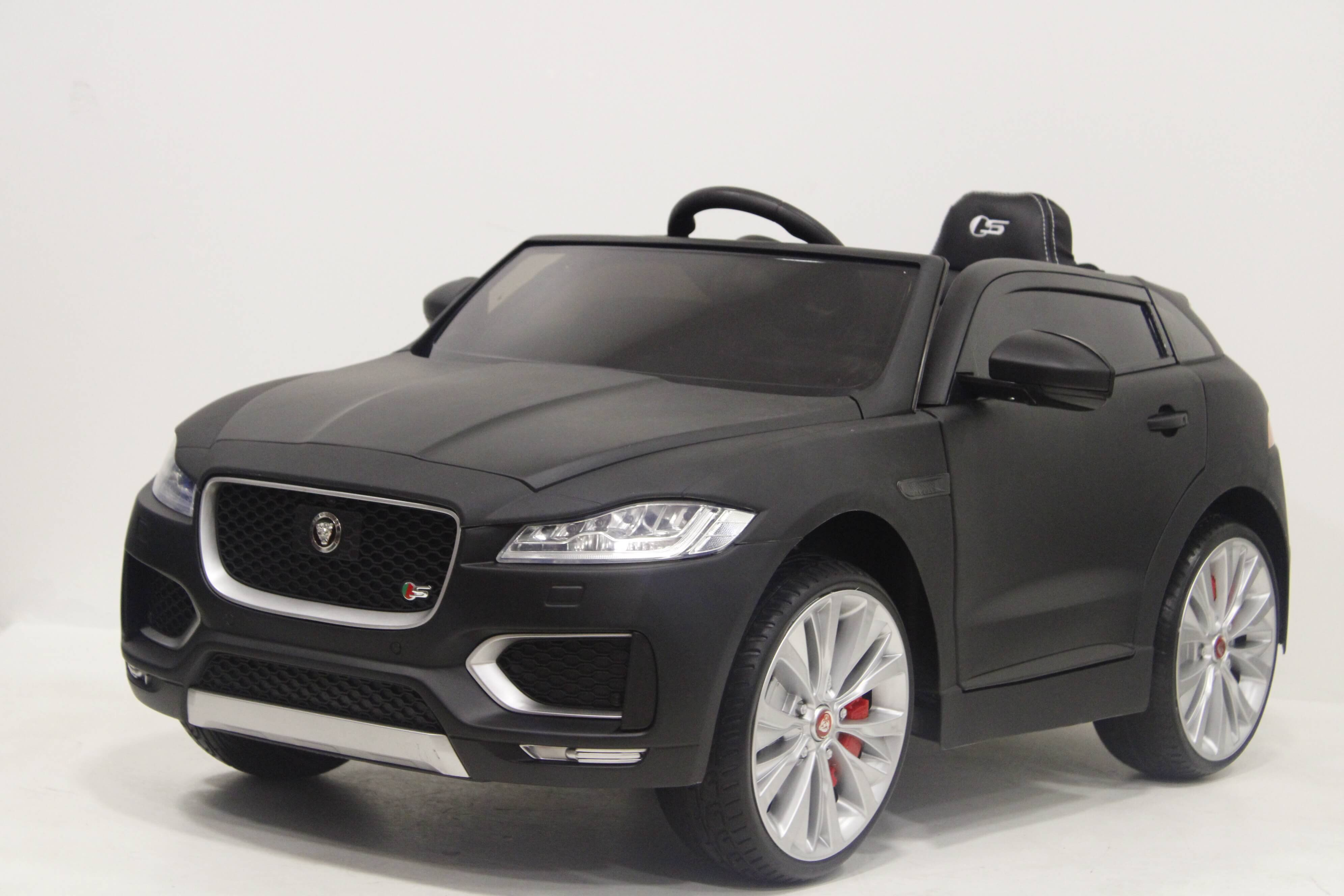 Электромобиль RiverToys JAGUAR F-PACE Black Matt