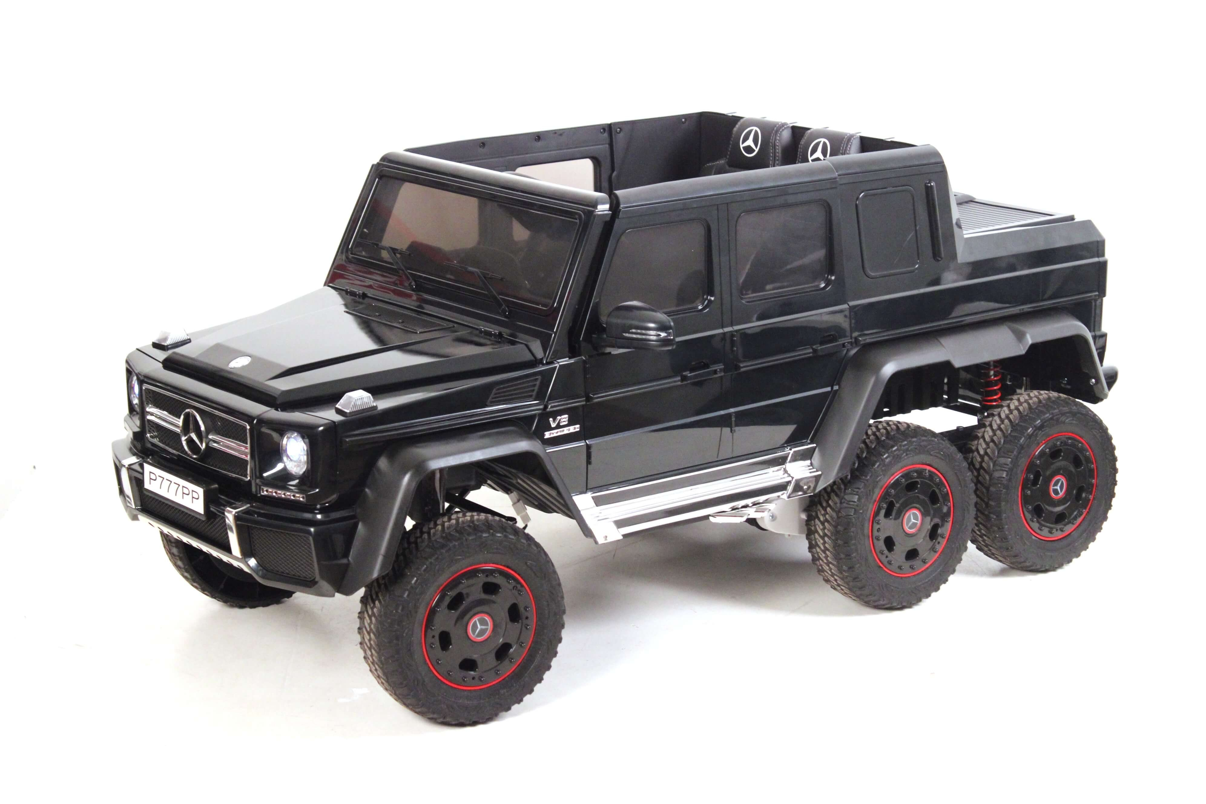 Электромобиль RiverToys Mercedes-Benz G63 AMG 4WD P777PP черный