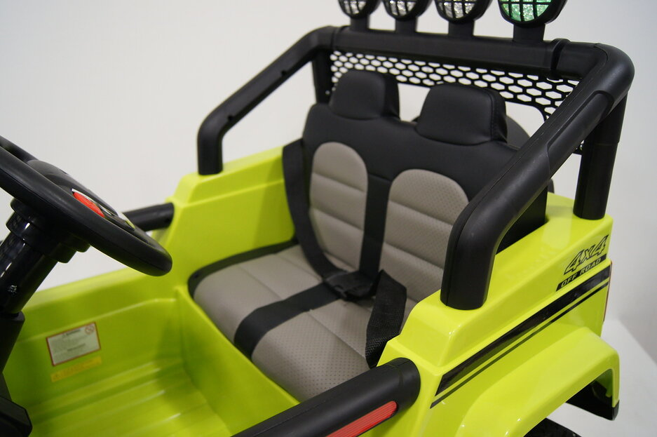 Электромобиль RiverToys JEEP T008TT-4*4 Green