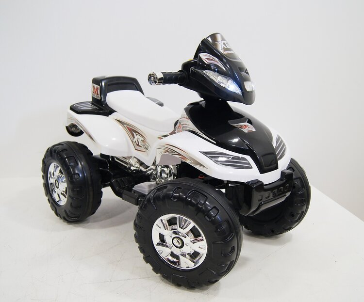 Квадроцикл RiverToys JY20A8 белый