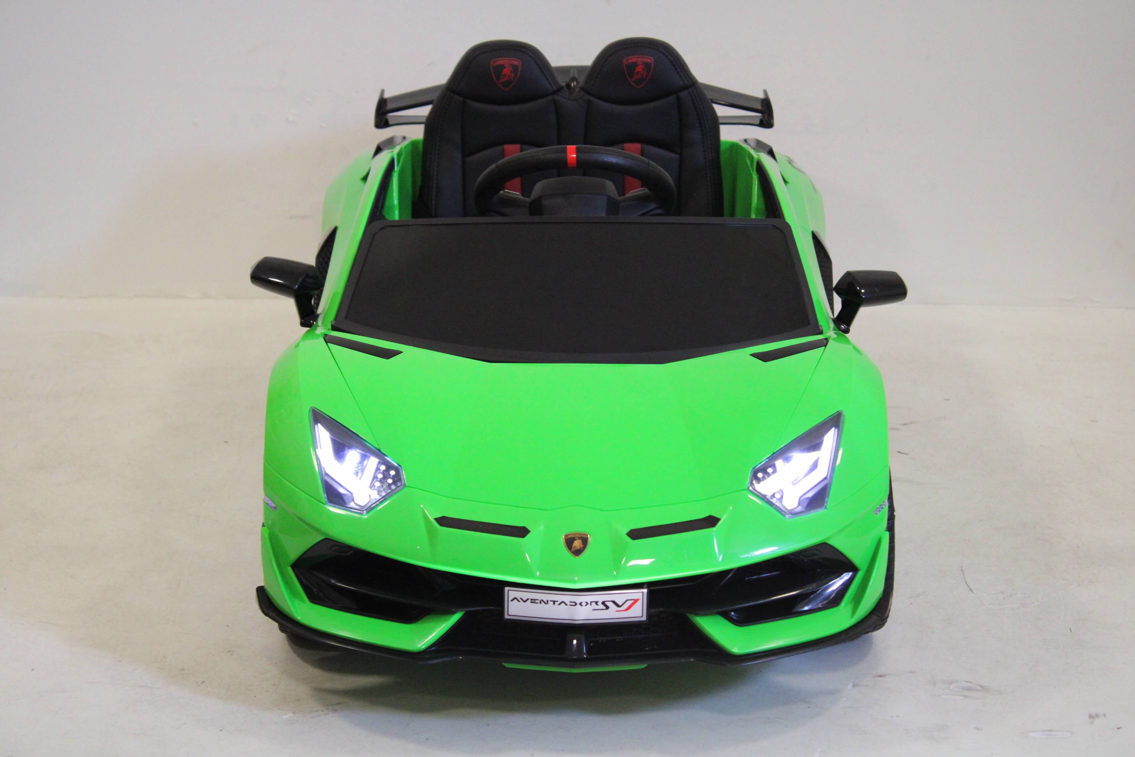 Электромобиль RiverToys LAMBORGHINI AVENDATOR SVJ - HL328 зеленый