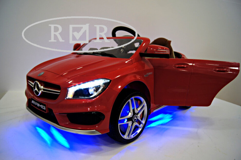 Электромобиль RiverToys Mercedes-Benz CLA45 A777AA Red