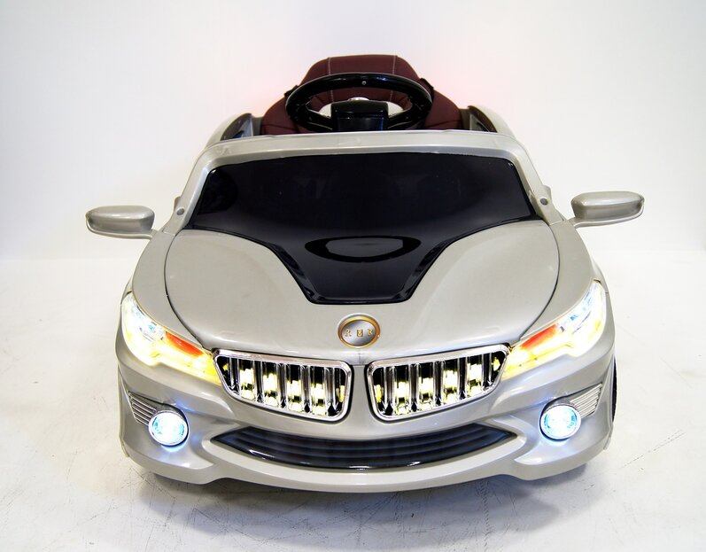 Электромобиль RiverToys BMW O002OO VIP SILVER