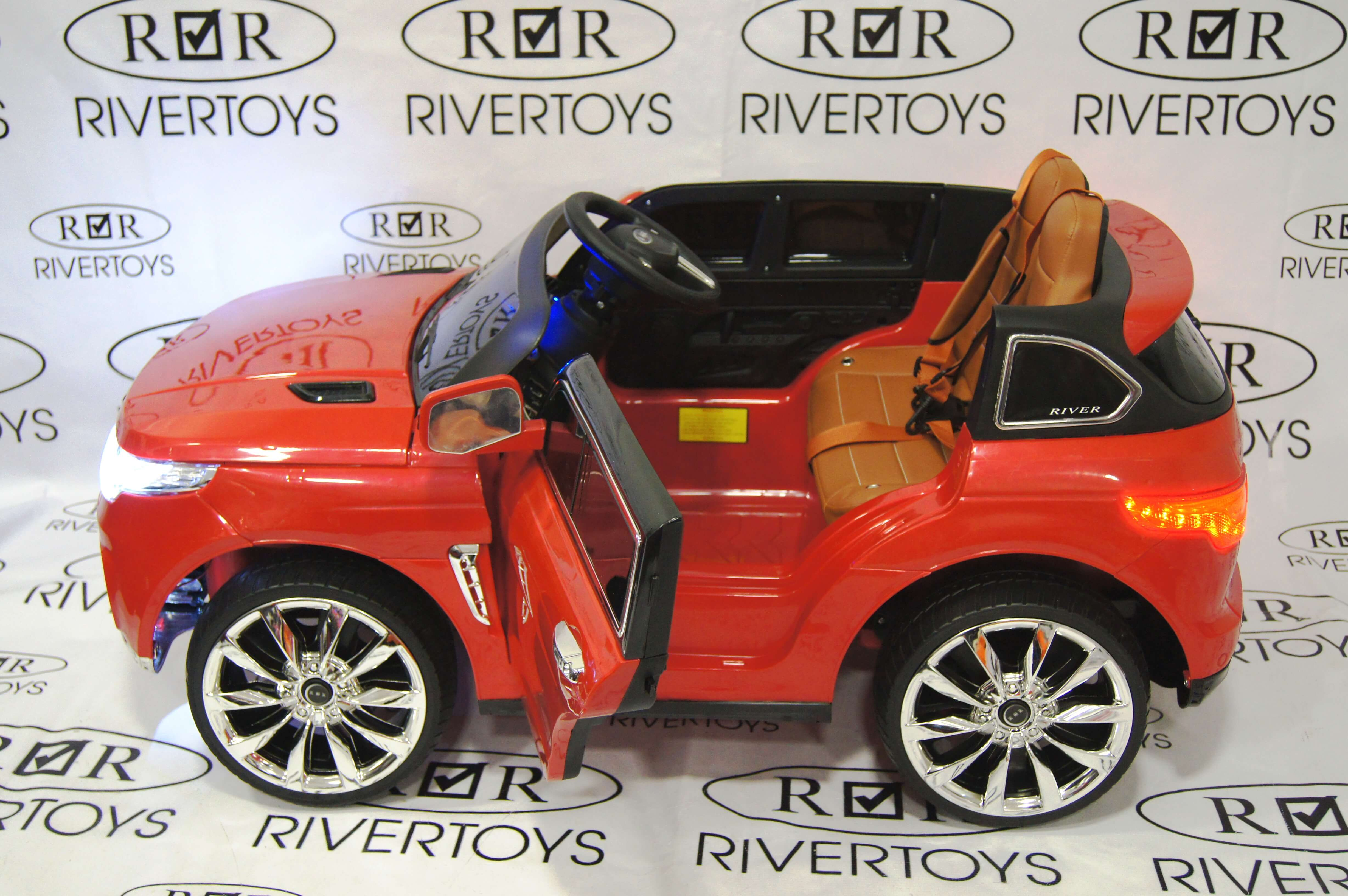 Электромобиль RiverToys Range Rover Sport Е999КХ CHERRY-GLANEC