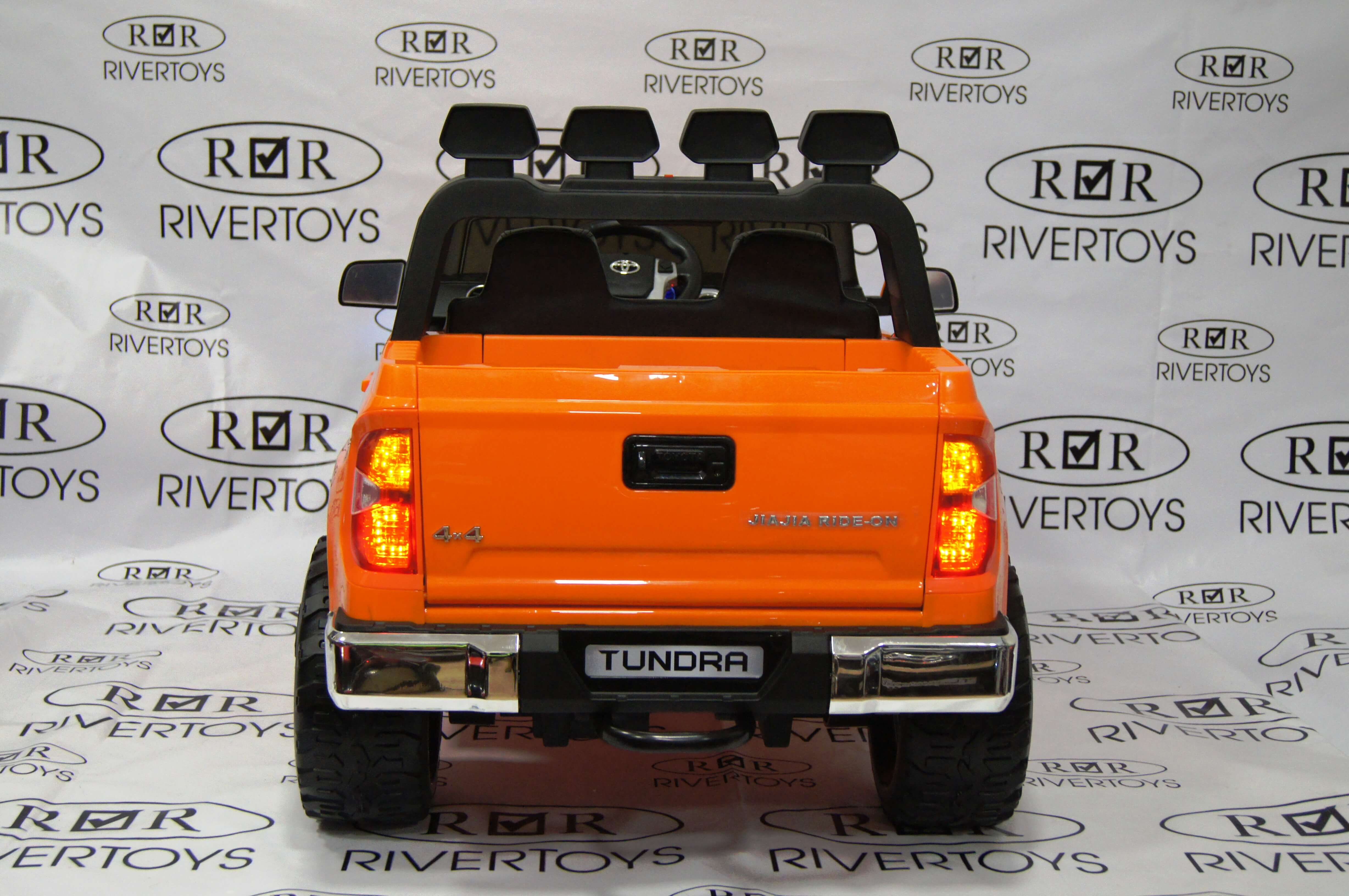Электромобиль RiverToys TOYOTA TUNDRA MINI JJ2266 Orange